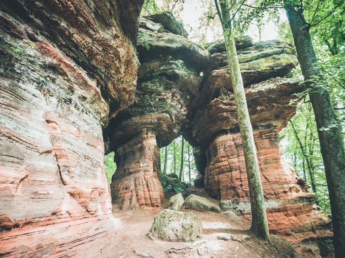 rocher de l'Altschlossfelsen