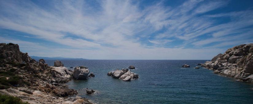 Capo Testa au Nord de la Sardaigne.